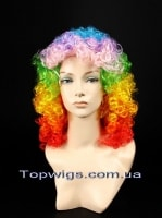 Парик Disco: Цвет RAINBOW