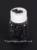 Кольца с силиконом: Цвет BLACK