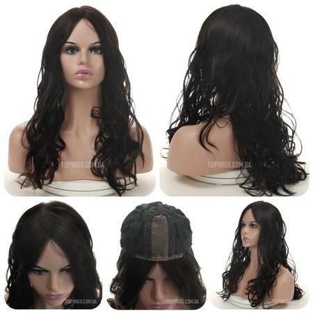 Длинный кучерявый парик на сетке Alicia Lace (Термо)
