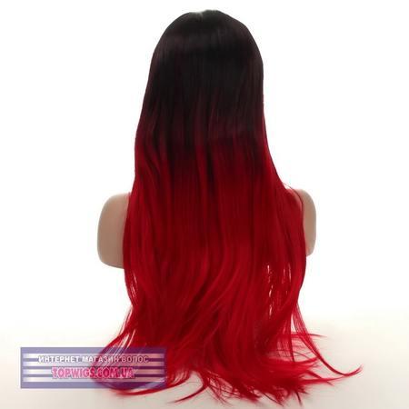 Цветной парик омбре Cora (термо)