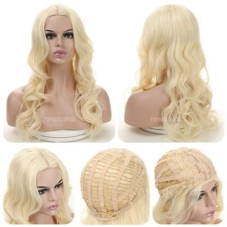 Кучерявый парик Ida AT без челки (Термо)