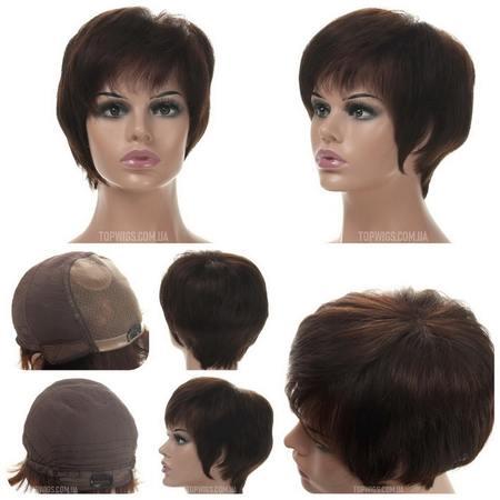 Самый лёгкий натуральный парик Terry HH Mono на сетке купить